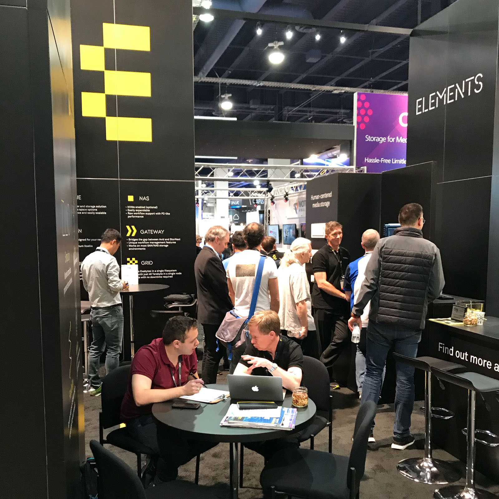 ELEMENTS at NAB 2018