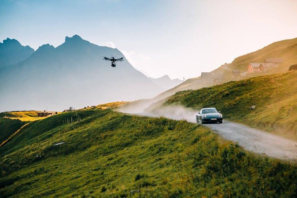 ELEMENTS at Fiction Films Porsche
